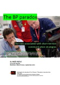 The BP paradox